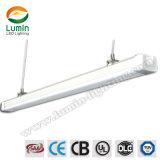 2018 China garaje 30lm/W LED de luz lineal Tri-Proof impermeable