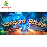 Máquina video de jogo da arcada da tabela de jogo dos peixes da batida do leopardo