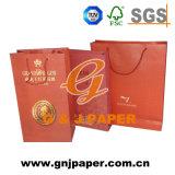 Diferencia Typs de bolsas de papel con su propia insignia