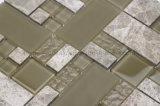 El vidrio y la piedra mezclados mezclan la talla multi (GQ01)