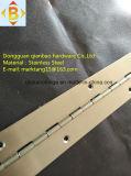 ステンレス鋼の長いヒンジ、飾り戸棚のヒンジ