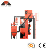 Serien-hakenförmiger Aluminiumlegierung-Rad-Granaliengebläse-Maschinen-Preis