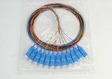 Accéder au tresse de fibre optique recto uni-mode du réseau Sc/Upc