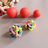 Нескольких диапазонов красочные Rainbow резиновые игрушки из ПЭТ шарики