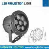 Im Freien Cer RoHS Projektor-Licht der Garten-Fußboden-Licht-Leistungs-12*2W