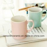 12 oz couleur doux du nouvel os de la Chine tasse à café en céramique