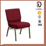 싼 금속 프레임 쌓을수 있는 교회 의자 (BR-J011)