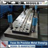 Produtos OEM personalizados de estamparia de metal progressivo de precisão para ambas as peças do molde e