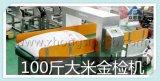 Dispositivo de detecção de metal alimentar em detectores de metais industriais