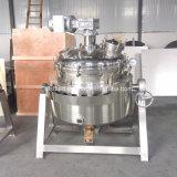 Chaleira Jacketed industrial do aquecimento de gás do LPG do Sweetmeat da máquina do alimento