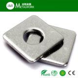 L'acier inoxydable A2 A4 de solides solubles amincissent la rondelle carrée (DIN, norme ANSI)