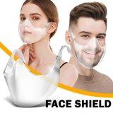Beschermend Clear Anti Virus / mist / Splash Isolation gezicht Schild voor volwassenen
