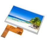 """LCD TFT 7""""de la pantalla LCD de 800x480 con el RGB 40pin o CTP Rtp opcional aplicable para el alquiler de DVD/GPS/DVR y médicos"""