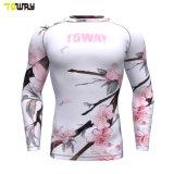 Abbigliamento Sportivo All'Ingrosso Blank Sublimazione Personalizzata Camicie A Manica Lunga Compressione