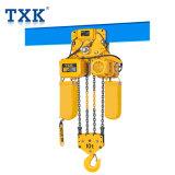 Txk Mシリーズのインポートされたチェーン10t電気チェーン起重機