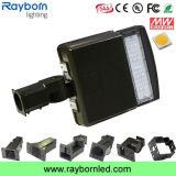 都市パブリックのための130lm/W動きセンサー50With100With15With200W LED Shoeboxライト