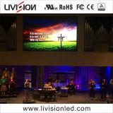 教会販売レンタルLEDのビデオ壁P3.9屋内SMD LED表示スクリーンのパネル