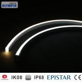 12W/M適用範囲が広いPVC LED管ライト、管LEDライト