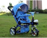 Triciclo bebé Kids triciclo com rotação de 360 Carrinho de crianças não de segurança