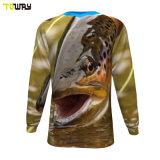 Magliette Da Pesca Sublimate Da Uomo Su Misura