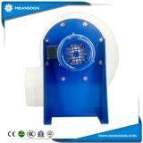 Ventilador centrífugo anticorrosivo de plástico para la ventilación de escape
