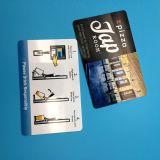 Scheda di chip astuta della scheda su ordinazione RFID NFC di prossimità CR80 per alta frequenza elettronica 13.56MHz del biglietto