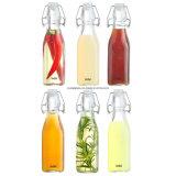 Gekohltes Wasser-Glasflasche