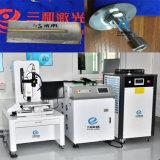 Soldador de fibra láser de la máquina para productos de metal