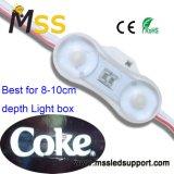 Alto brillo LED de 2 o 3 LED SMD 3030 para el módulo de Carteles de publicidad