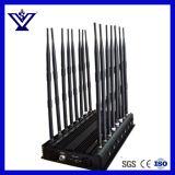 La antena de 16 Jammer, Blocker para 3G 4G Celular, Lojack 173MHz. RC433MHz, 315MHz GPS, Wi-Fi, la señal de radio VHF, UHF (Jammer SYF-900)