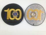 ライオンクラブ刺繍パッチ、カスタムロゴは記章を付ける(GZHY-PATCH-005)