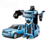 Jouet populaire Voiture de contrôle à distance de la transformation du robot avec de la musique