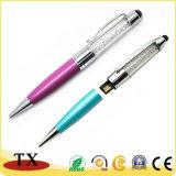 3 en 1 Promotion cadeau d'affaires USB Lecteur Flash USB Stick USB Pen stylos à écran tactile USB Pendrive USB Pen usb disque de stylo à bille