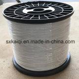 Pequeño rollo de alambre de acero recubierto de nylon