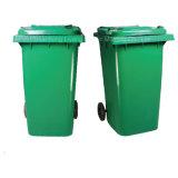 Rodas exteriores Lixeira caixote de lixo de plástico para uso público em Street