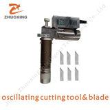 Jinan Zhuoxing coche CNC automática Máquina de corte Mat con corte de cuchilla oscilante