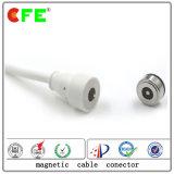 Conector de alimentación magnético eléctrico de CC para Smart Boo el siseo de la hebilla