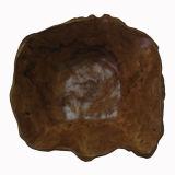 熱い販売の骨董品によって切り分けられる楕円形の木の節玉ボール