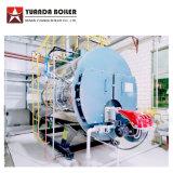 Wns5-1.25-Yq 5のトン13barのガスの食糧工場のためのディーゼル発射された蒸気ボイラ