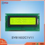 Символ ЖК-дисплей 16X2 точек Splc Yellow-Green фон с IC780d1