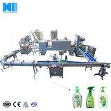 Управляющего поршня жидкого мыла машина производственной линии для жидкого моющего средства