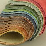 織物のMircofiberの柔らかいホーム革(1605#)を感じる本革