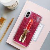 Жидкие помады преодоление зыбучих песков Блестящие цветные лаки для чехол для мобильного телефона iPhone 7 7plus