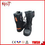 De hete Verkopende Beschermende Laarzen van de Brandbestrijding van de Rang