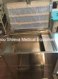病院のステンレス鋼のプラスチック実用的なトロリー、医学の看護のトロリーまたはカートの価格