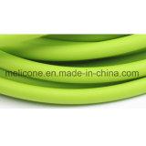 Tubo de resistência de látex natural equipamento de ginásio de tamanho 5*8 mm
