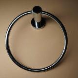 Muur Opgezette Ring 61009 van de Handdoek van de Legering van het Zink van het Chroom