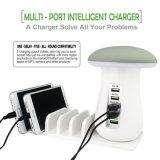 Charge rapide 3.0 lampe de bureau à LED de champignons de la station de recharge USB