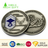 Placcatura d'argento antica di timbratura d'ottone Britannici del metallo su ordinazione del fornitore della Cina 8 monete del raggruppamento della sfera