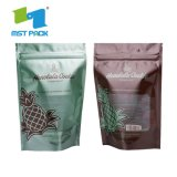 Сертификацию FDA биоразлагаемой упаковки кофе встать пластиковый мешок молнии